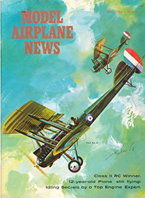 MODEL AIRPLANE NEWS MAY 1964: WALTER L. SCHRODER,