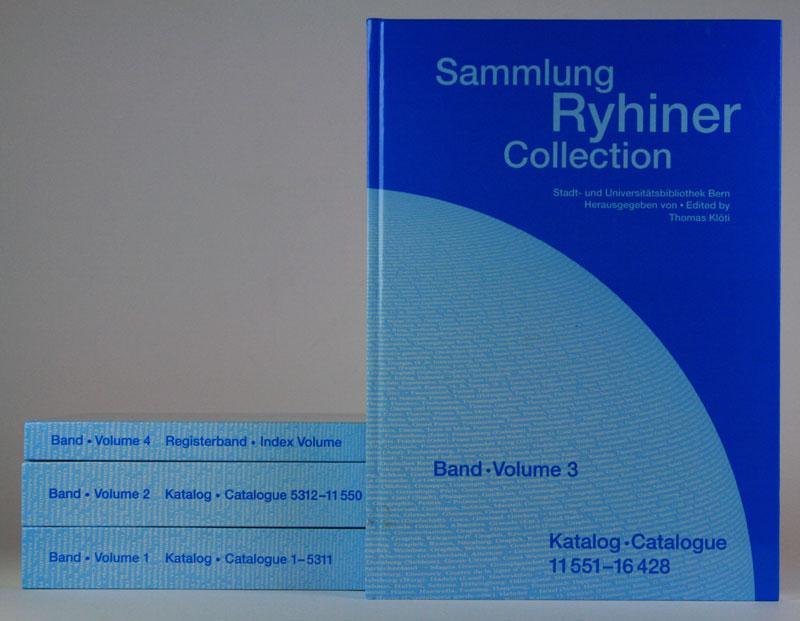 Sammlung Ryhiner Collection: Stadt- und Universitätsbibliothek