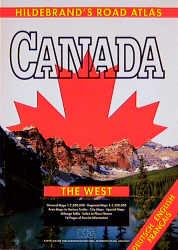 Hildebrand's Road-Atlas Canada, The West (USA & Canada - road atlases): Collectif: