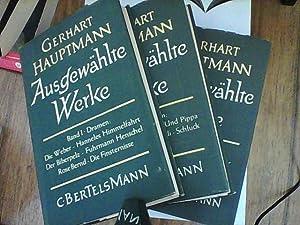 Ausgewählte Werke Band I-V: Hauptmann, Gerhardt: