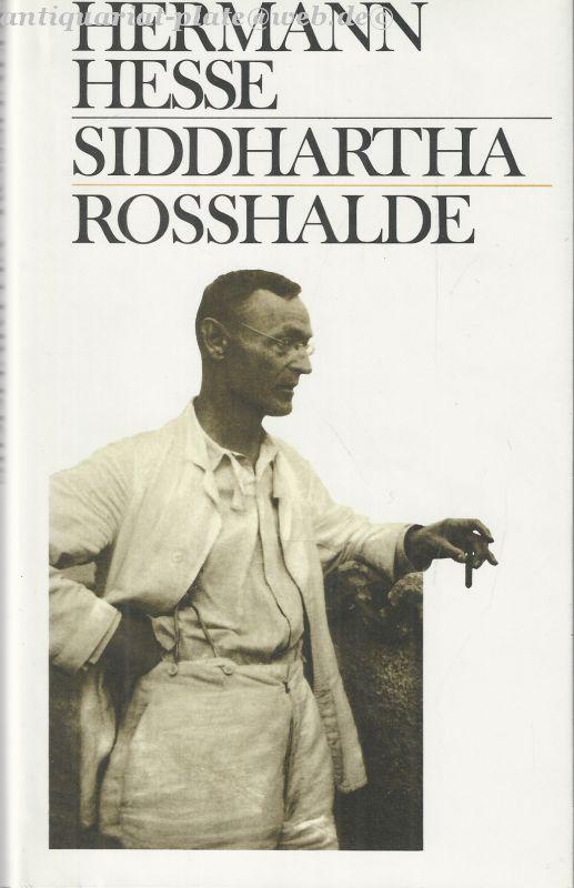 Siddhartha Rosshalde.: Hesse, Hermann: