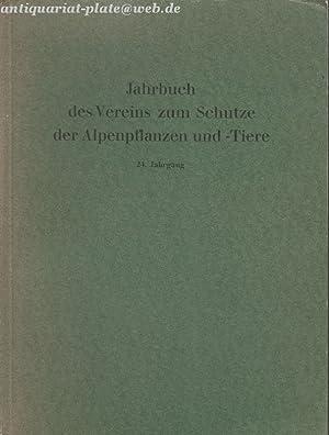 Jahrbuch des Vereins zum Schutze der Alpenpflanzen und -Tiere. 19.-20. Jahrgang.: von Pechmann, Dr....