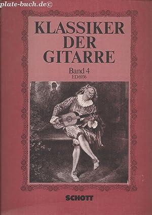 Klassiker der Gitarre. ED 6936 Studien- un: Peter, Ursula (Hrg):