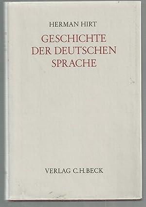 Geschichte der deutschen Sprache(4. Band, Erster Teil ). Etymologie der Neuhochdeutschen Sprache ( ...