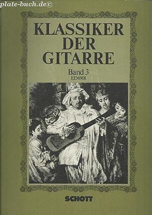 Klassiker der Gitarre. ED 6908 Studien- un: Peter, Ursula (Hrg):