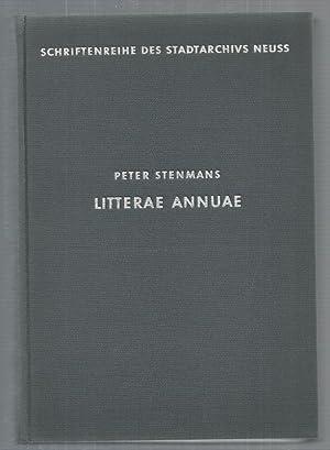 Litterae Annuae. Die Jahresberichte des Neusser Jesuitenkollegs 1616-1773. Übersetzt und erl&...