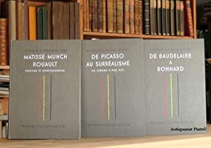 Histoire de la Peinture Moderne. - De Picasso au Surrealisme / De Baudelaire a Bonnard / ...