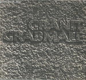 Granit-Grabmale.: Hrg) Verband Deutschen Granitindustrie und Dr. rer. pol. Walter Baumann: