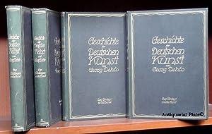 Geschichte der deutschen Kunst. Erster und zweiter Band. Vier Bücher.: Dehio, Georg: