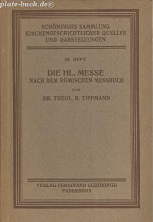 Schönnighs Samlung Kirchengeschichtlicher Quellen und Darstellungen. 23.: Mohler, Dr.L., Dr.A.