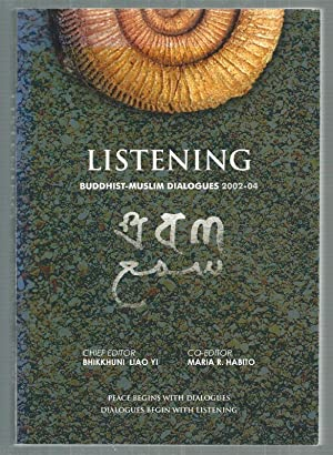 """Listening. Buddhist-Muslim Dialogues 2002-04. Mit beiliegender Audio CD: """"Echoes from the ..."""