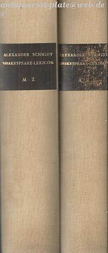 Shakespear - Lexicon.: Schmidt, Alexander: