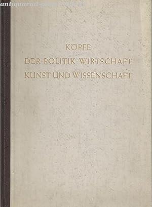 Köpfe der Politik, Wirtschaft, Kunst und Wissenschaft. 2 Bände.: Klimesch, Karl Ritter ...