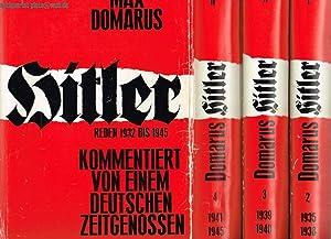Hitler. Reden und Proklamationen 1932-1945. Band 1.: Domarus, Max: