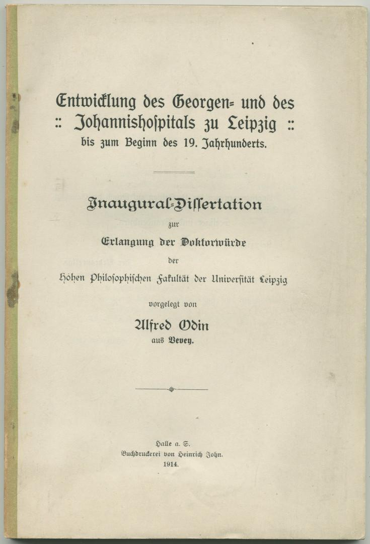 Online dissertation mlu halle
