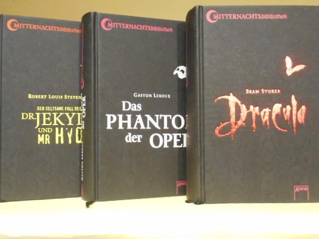 Bram Stoker: Dracula; Gaston Leroux: Das Phantom: Maren Bonacker (Hrsg),