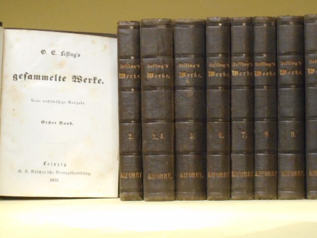 G. E. Lessing's gesammelte Werke, 10 Bände: Gotthold Ephraim Lessing