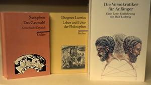 Konvolut aus 9 Reclam-Bänden zur griechisch-römischen Antike: Jaap Mansfeld, Ekkehard