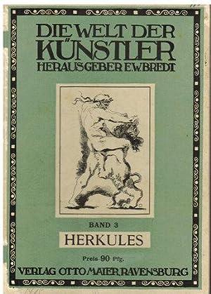 """Herkules. In """"Die Welt der Künstler -: Bredt, E. W."""