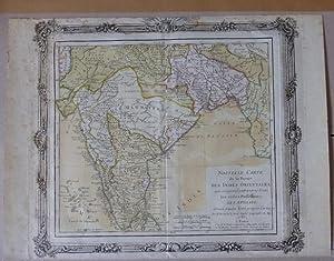 Landkarte von Indien. Nouvelle carte de la partie de Indes Orientales, qui comprend, entr`autres ...