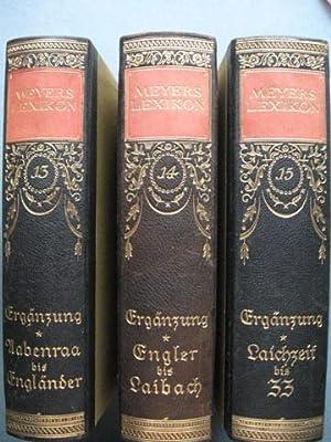 Meyers Lexikon. Siebente (7.) Auflage. In vollständig neuer Bearbeitung. Mit etwa 7900 ...