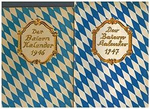 Der Baiern-Kalender. 1947, 1948, 1949,: Schnell, Hugo (Hrsg.):