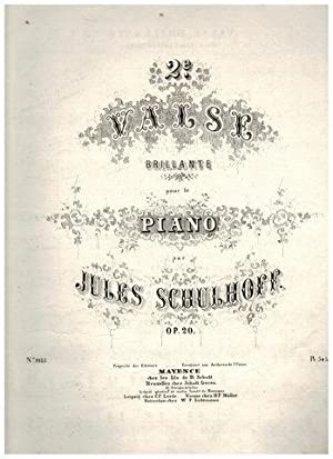 2.e Valse brillante pour le piano. op. 20.