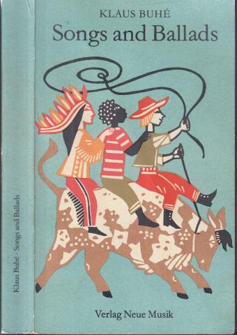 Songs and Ballads Linolschnitte von Jutta Lamprecht: Buhe, Klaus;