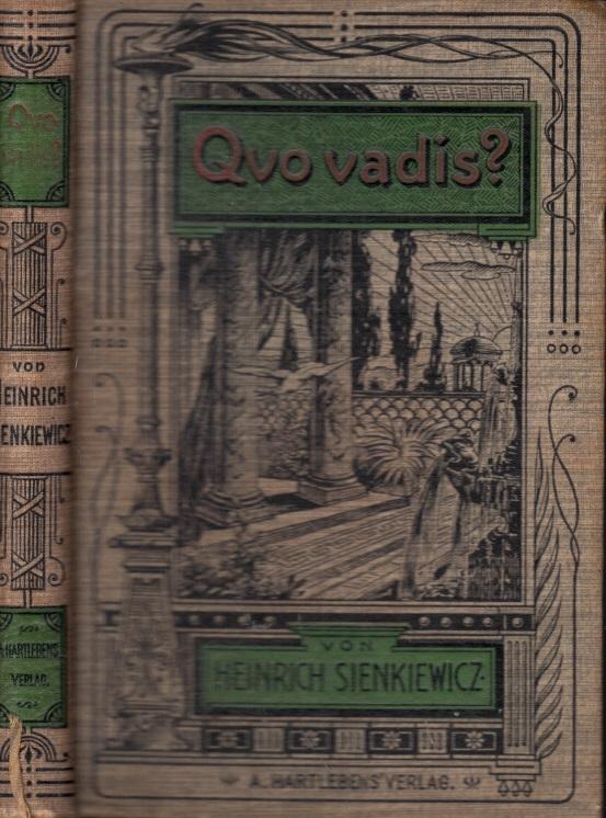 Quo vadis? - Roman in zwei Bänden