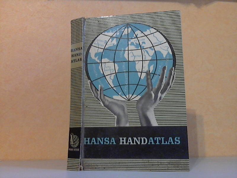 Hansa Handatlas 103 mehrfarbige Haupt- und Nebenkarten,: Muris, Oswald;