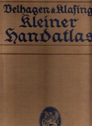 Velhagen & Klasings Kleiner Handatlas in 100: Scobel, A.;