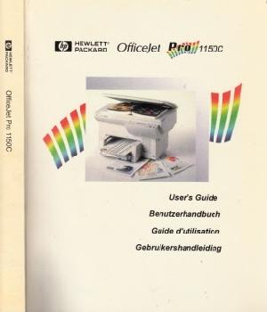 HP OfficeJetPro 1150C - Benutzerhandbuch: Autorengruppe;