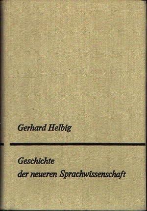 Geschichte der neueren Sprachwissenschaft Unter dem besonderen: Helbig, Gerhard:
