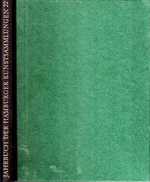 Jahrbuch der Hamburger Kunstsammlungen Band 22: Hohl, Hanna und Wolfgang Eckhardt;
