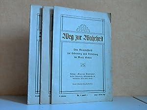Weg zur Wahrheit Heft Nr. 1 und: Keller, Joh. E.;