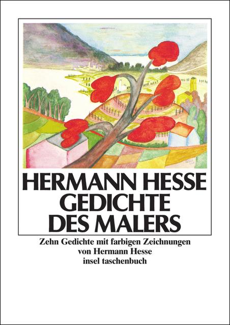 Gedichte des Malers: Zehn Gedichte mit farbigen: Hesse, Hermann: