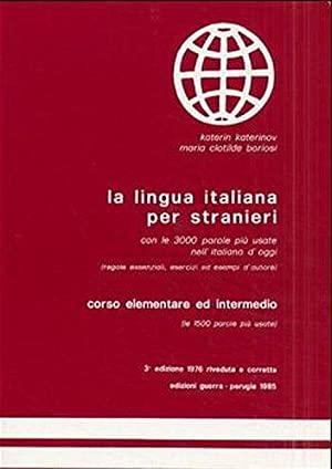 La lingua italiana per stranieri. Corso elementare: Katerinov, Katerin und