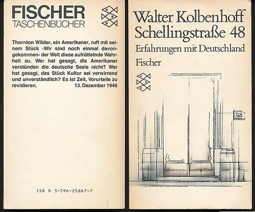 schellingstrasse 48 erfahrungen von walter kolbenhoff zvab. Black Bedroom Furniture Sets. Home Design Ideas