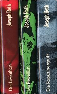 Konvolut von 3 Bänden.