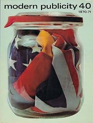 modern publicity 40, 1970/71. Englisch - französisch