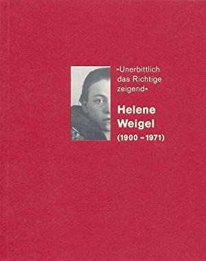 Helene Weigel. (1900 - 1971).
