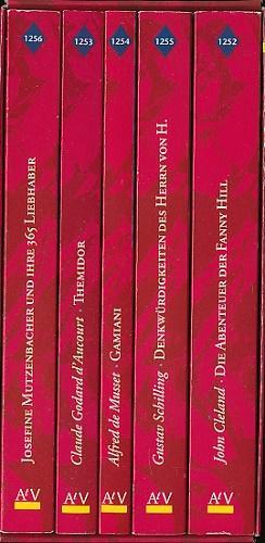 Erotische Romane der Weltliteratur.