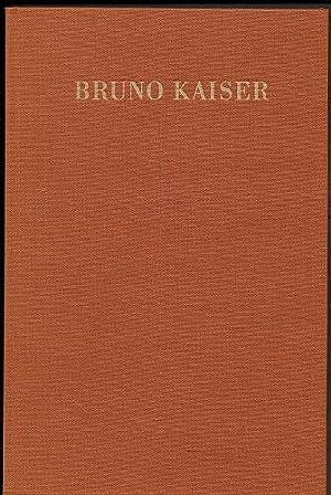 Festschrift für Bruno Kaiser anläßlich des 70.