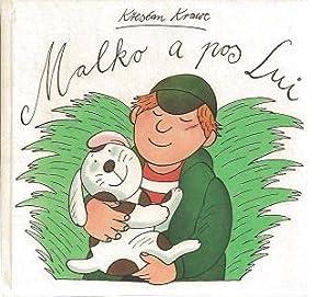 Malko a pos Lui. Farbig illustriert von: Krawc, Krescan: