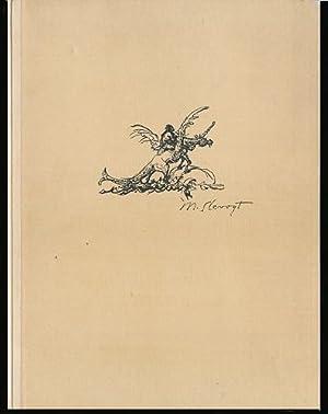 Zeichnungen zu Kinderliedern, Tierfabeln und Märchen. Mit: Slevogt, Max: