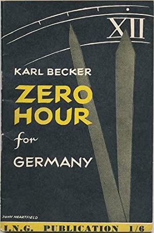 Zero Hour for Germany.