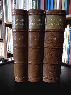Ulysses. Vom Verfasser geprüfte dt. Ausgabe v. G.Goyert.: Joyce, James: