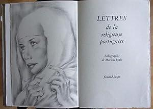 Lettres de la religieuse portugaise.: Alcoforado, Marianna):
