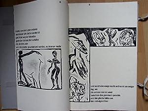 o.t. Lyrik von S.Anderson, Grafik v. H.Leiberg.: Anderson, Sascha (u. ) Helge Leiberg: