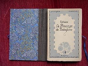 La princesse de Babylone.: Voltaire, F.M.A.de:
